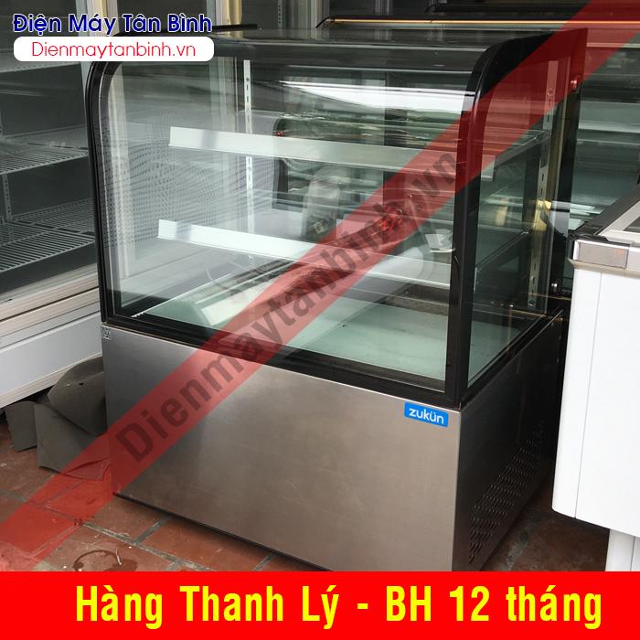 Tủ lạnh bánh sinh nhật Zukun 1,2m (mới 99%)