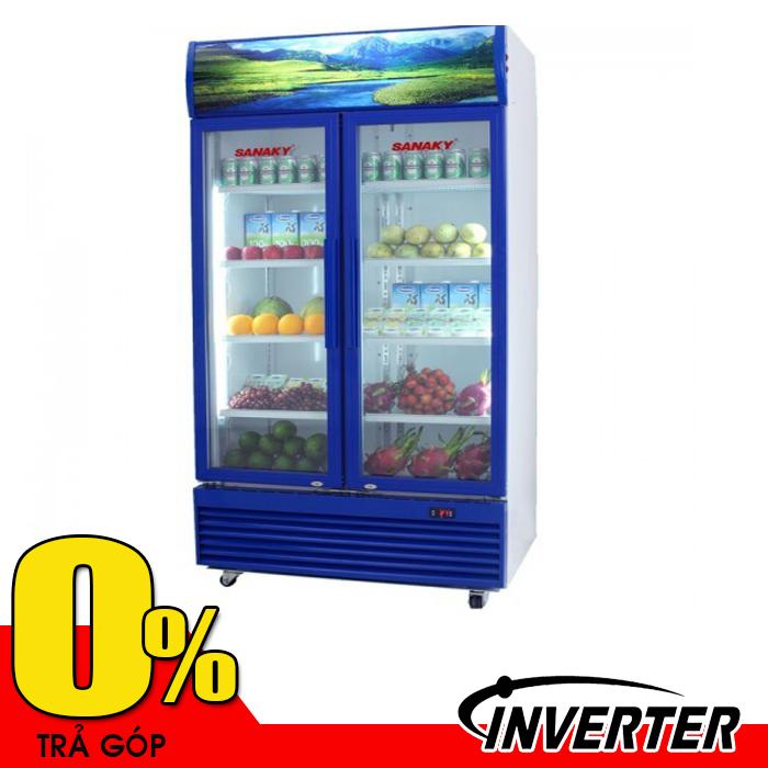 Tủ mát 1200L 2 cửa Sanaky VH-1209HP3 (inverter - tiết kiệm điện 50%)