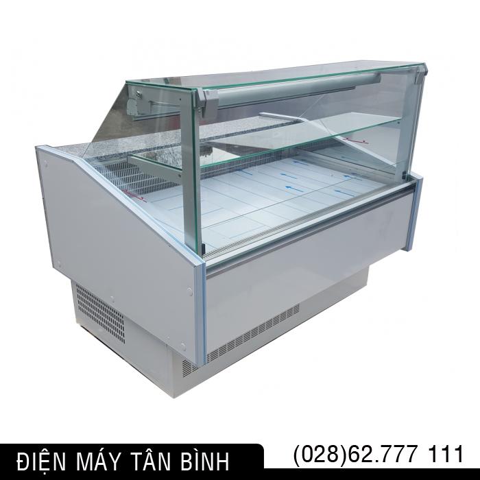 Tủ mát kính trưng bày bánh, nước ngọt (Kính Vuông)